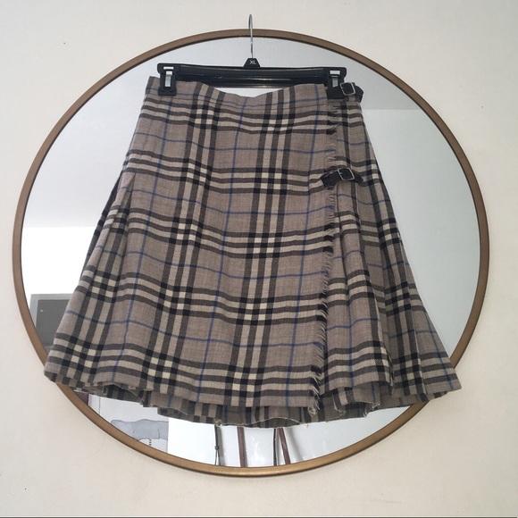 2b8cef84f8 Burberry Dresses & Skirts - Burberry Plaid Skirt